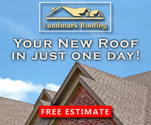 Landmark Roofing Digital Ad